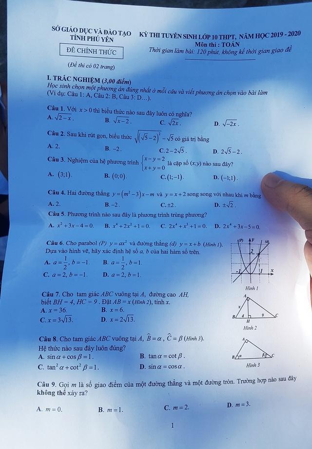 Tuyển sinh lớp 10 Phú Yên: 320 thí sinh bỏ thi môn Văn và Toán - 2