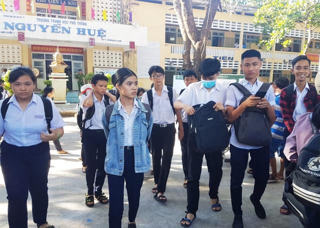 Tuyển sinh lớp 10 Phú Yên: 320 thí sinh bỏ thi môn Văn và Toán - 1