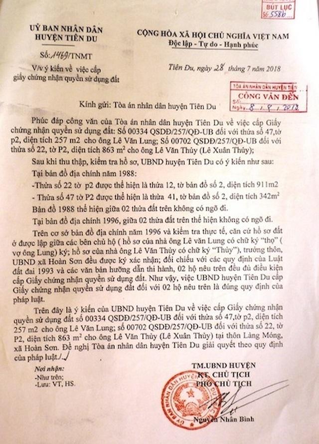 """Bắc Ninh: Toà án, chính quyền """"vênh"""" quan điểm, người dân lĩnh đủ! - 2"""
