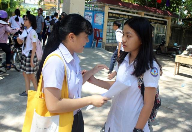 Đã có điểm thi tuyển sinh vào lớp 10 ở Phú Yên - 2