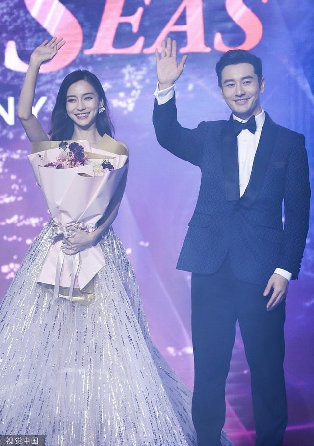 Huỳnh Hiểu Minh nâng váy cho Angelababy, đập tan tin đồn ly hôn - 6