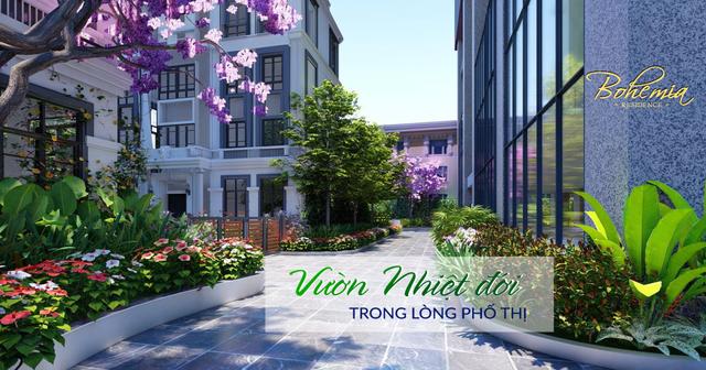 Bohemia Residence số 2 Lê Văn Thiêm: Vườn nhiệt đới trong lòng phố thị - 1