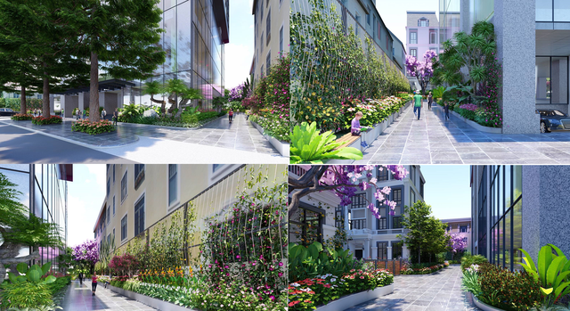 Bohemia Residence số 2 Lê Văn Thiêm: Vườn nhiệt đới trong lòng phố thị - 2