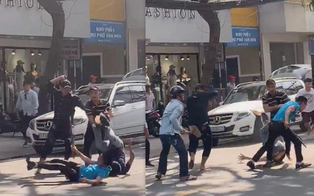 nguyên nhân chục thanh niên mang hung khí truy sát nhóm đi ô tô ở Sài Gòn