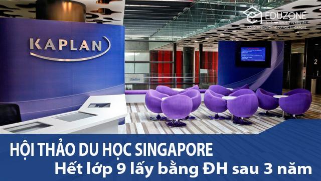 Du học Singapore khi chưa tốt nghiệp THPT, nhận bằng Đại học sau 2.5 năm - 1