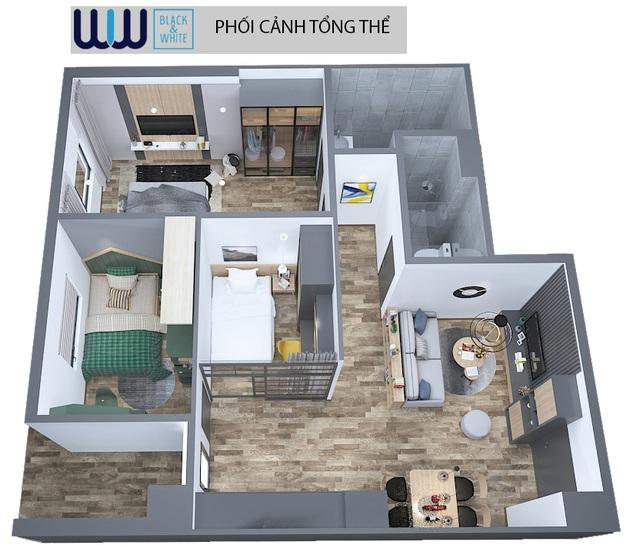 Căn hộ 3 phòng ngủ tại Eurowindow River Park Cầu Đông Trù - Giá chỉ 1,5 tỷ đồng - 3