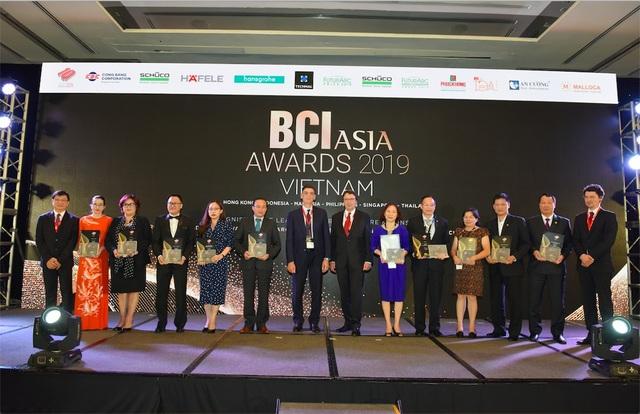 Phú Long được vinh danh tại giải thưởng khu vực Châu Á - BCI Asia Top 10 Awards - 2