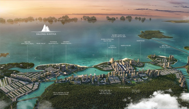 Halong Marina – từ vùng đất trống ven biển thành đại đô thị du lịch sầm uất bên bờ di sản - 1