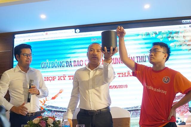 Hà Tĩnh đăng cai tổ chức Giải bóng đá Báo chí miền Trung lần thứ VI - 2019 - 3