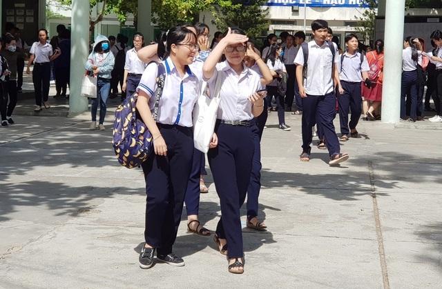 Khánh Hòa: Thí sinh dự thi vào lớp 10 không chuyên kết thúc kỳ thi - 2
