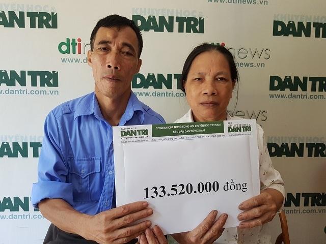 Bạn đọc Dân trí giúp đỡ 2 bà cháu rau cháo nuôi nhau hơn 133 triệu đồng. - 3