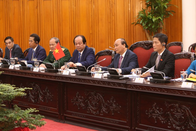 Thủ tướng Nguyễn Xuân Phúc chủ trì lễ đón chính thức người đồng cấp Italia - 7