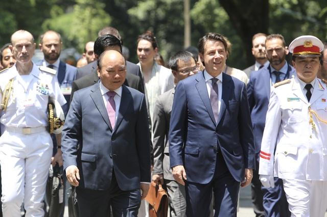 Thủ tướng Nguyễn Xuân Phúc chủ trì lễ đón chính thức người đồng cấp Italia - 6