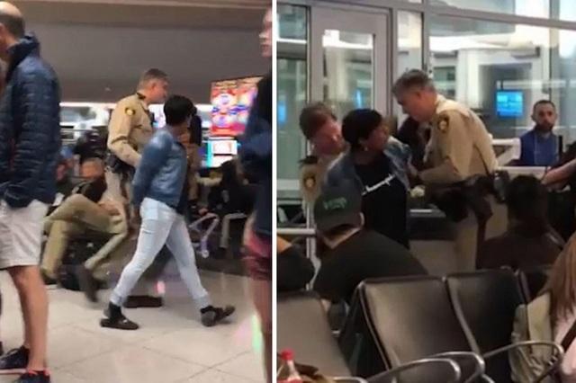 Nữ hành khách bị bắt giữ vì... phàn nàn ghế máy bay bẩn - 1