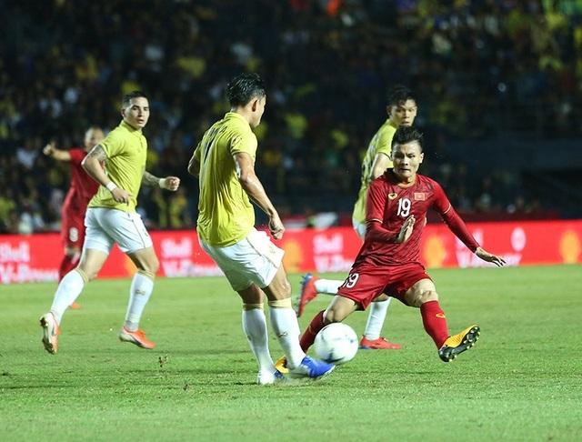 Thái Lan 0-1 Việt Nam (Hiệp 2): Anh Đức ghi bàn - 1