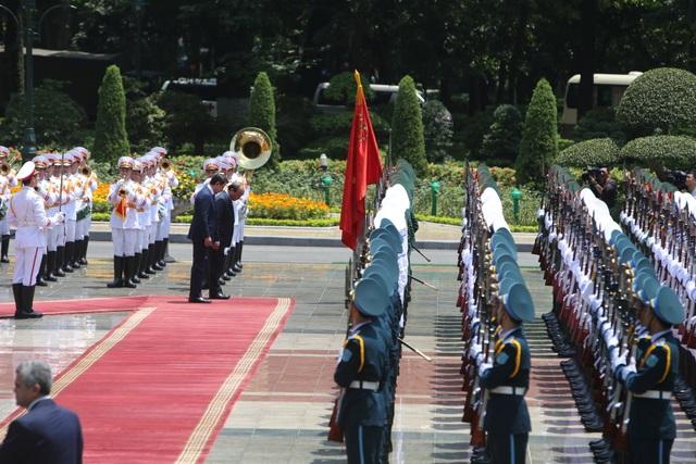 Thủ tướng Nguyễn Xuân Phúc chủ trì lễ đón chính thức người đồng cấp Italia - 3