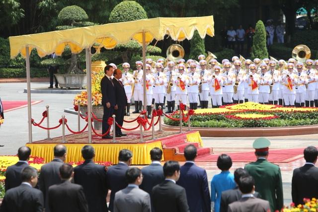 Thủ tướng Nguyễn Xuân Phúc chủ trì lễ đón chính thức người đồng cấp Italia - 2
