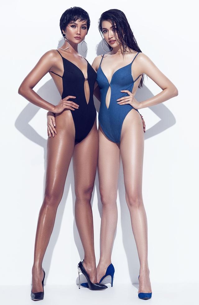 H'Hen Niê - Á hậu Lệ Hằng tung ảnh tình tứ và nóng bỏng với bikini - 2