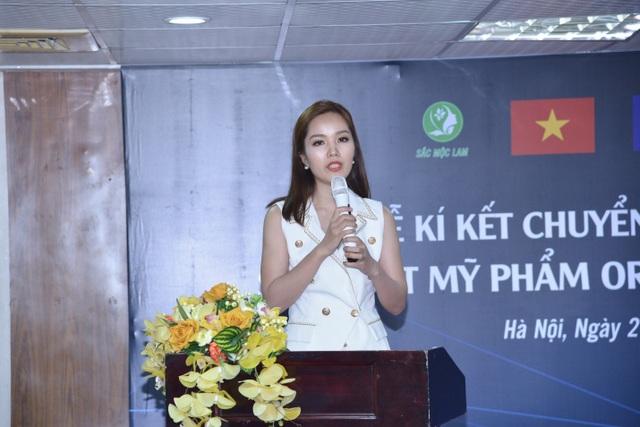 Sắc Mộc Lam chuyển giao công nghệ sản xuất mỹ phẩm Organic Plus - 1