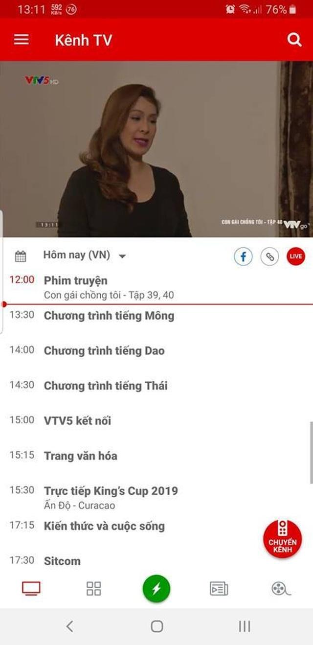 Hướng dẫn xem trực tiếp trận đấu giữa đội tuyển Việt Nam và Thái Lan trên smartphone và máy tính - 4
