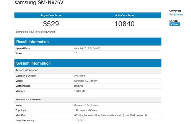 Lộ cấu hình chi tiết Galaxy Note10, sở hữu bộ nhớ RAM lên đến 12GB - 1