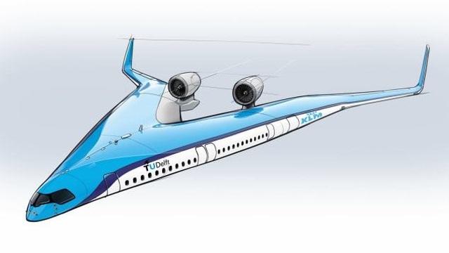 Hà Lan phát triển máy bay thiết kế độc, chở khách ở cánh - 1