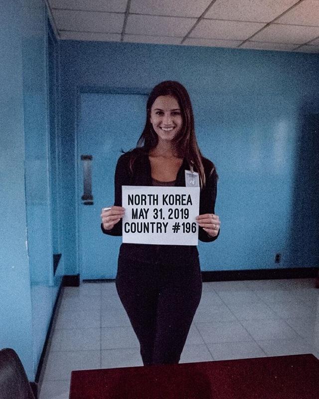 Nữ phượt thủ xinh đẹp trở thành người trẻ nhất đặt chân tới tất cả quốc gia trên thế giới - 1