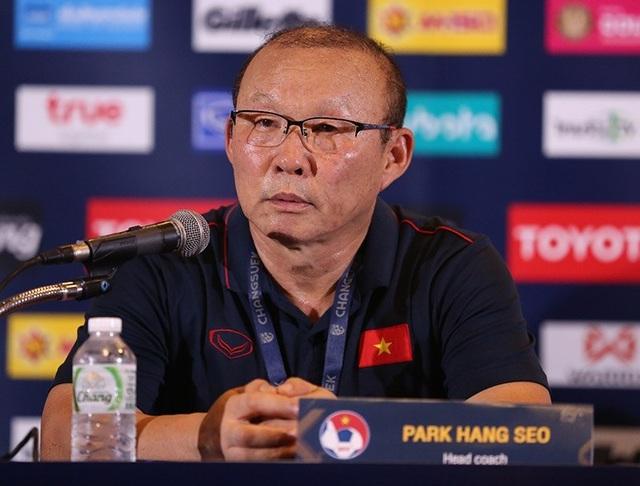"""HLV Park Hang Seo: """"Tôi tự hào vì chiến thắng trước Thái Lan"""" - 1"""