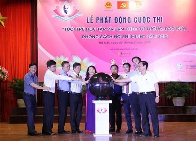 """Phát động cuộc thi """"Tuổi trẻ học tập và làm theo tư tưởng, đạo đức, phong cách Hồ Chí Minh"""" năm 2019 - 1"""