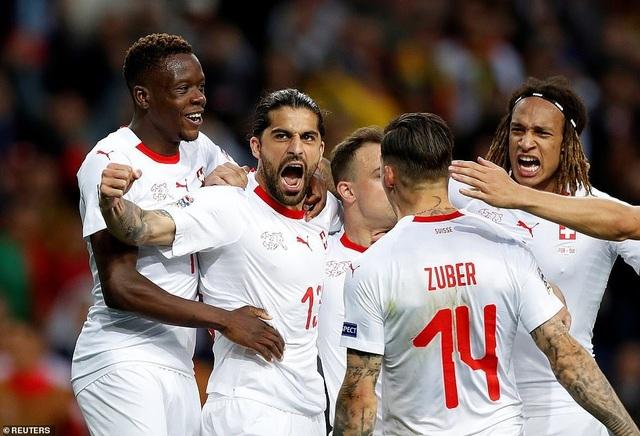 Bồ Đào Nha 3-1 Thụy Sỹ: Cú hattrick của C.Ronaldo - 8