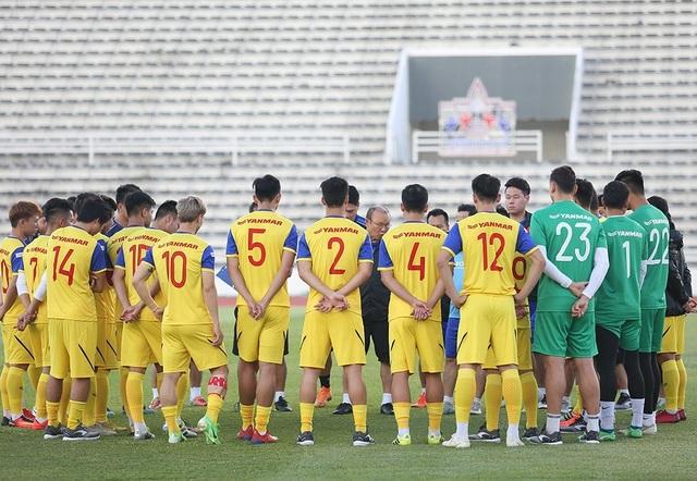Thầy Park bí mật giao nhiệm vụ cho 5 cầu thủ trước trận gặp Curacao - 1