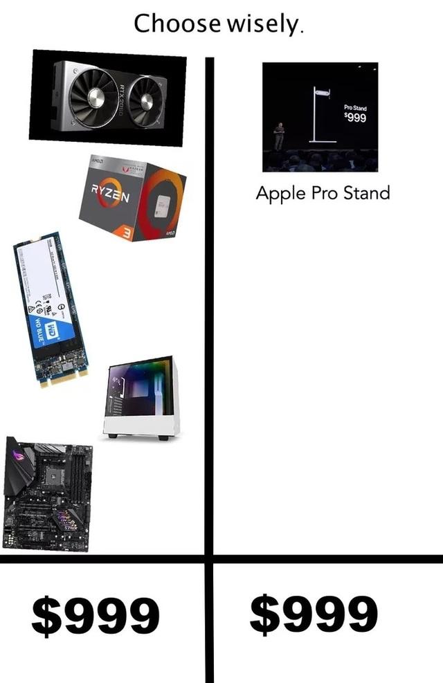 """Dân mạng chế ảnh châm biếm mức giá """"điên rồ"""" của chân đế màn hình Apple - 18"""