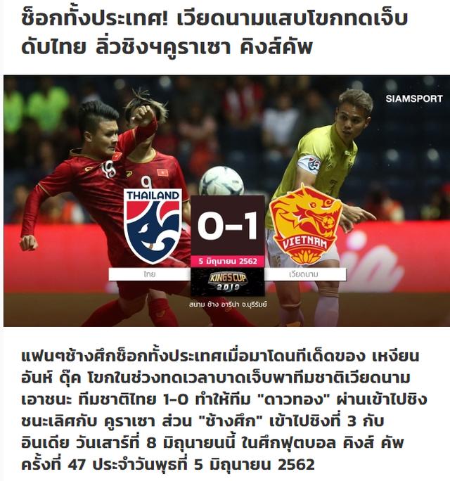 Báo Thái Lan sốc nặng khi đội nhà để thua đội tuyển Việt Nam - 1
