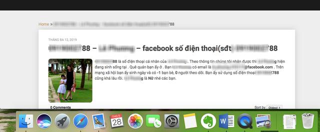 Choáng: Bị người khác dùng thông tin cá nhân để đặt mua hàng trên Facebook - 2