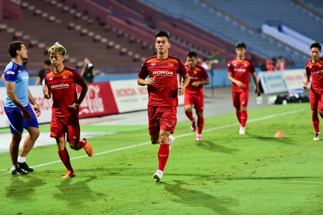 U23 Việt Nam rèn miếng đánh trước cuộc đấu với U23 Myanmar - 4