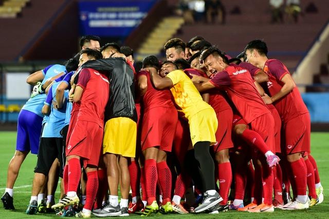 U23 Việt Nam rèn miếng đánh trước cuộc đấu với U23 Myanmar - 1