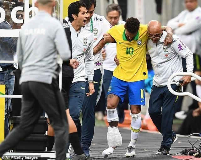 Neymar bật khóc sau khi lỡ hẹn với Copa America 2019 - 4