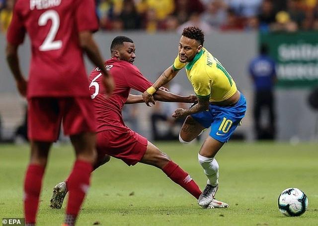 Neymar bật khóc sau khi lỡ hẹn với Copa America 2019 - 1