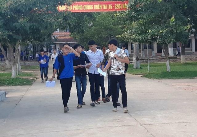 Tuyển sinh lớp 10 tại Nghệ An: 5 thí sinh thay đổi điểm sau phúc khảo - 1