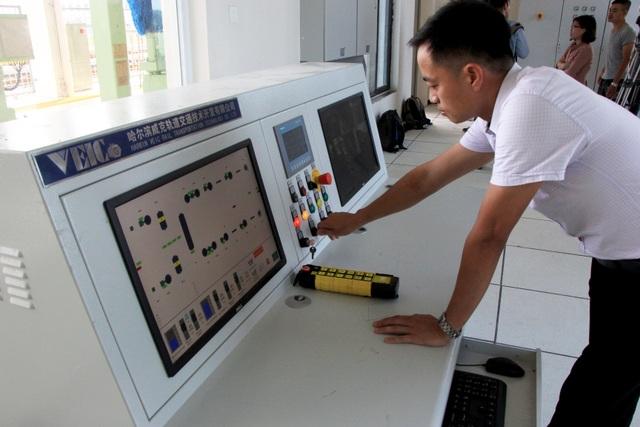 Đột nhập nhà rửa tàu tự động đầu tiên ở Việt Nam - 5