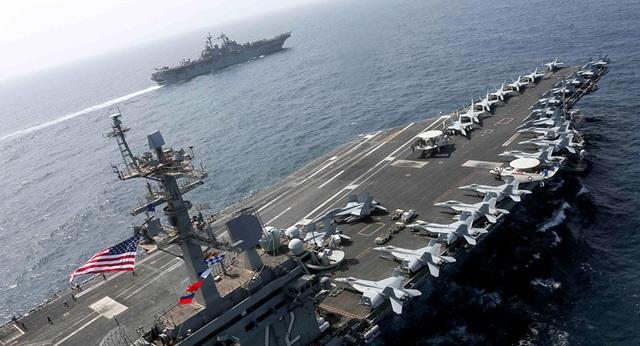 Lý do tàu sân bay Mỹ chưa tiến vào Vịnh Ba Tư đối đầu Iran - 1