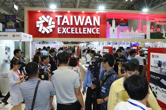 Taiwan Excellence giới thiệu nhiều dấu ấn công nghệ độc đáo tại Vietnam ICT COMM 2019 - 6