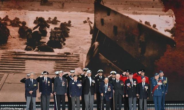 Dàn lãnh đạo thế giới kỷ niệm 75 năm cuộc đổ bộ huyền thoại Normandy - 14