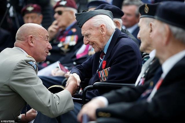 Dàn lãnh đạo thế giới kỷ niệm 75 năm cuộc đổ bộ huyền thoại Normandy - 13