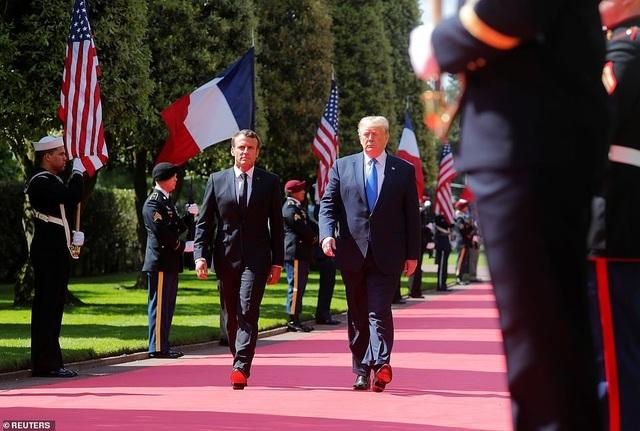 Dàn lãnh đạo thế giới kỷ niệm 75 năm cuộc đổ bộ huyền thoại Normandy - 1