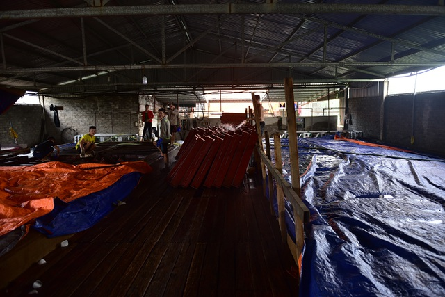 Bên trong xưởng đá lạnh khổng lồ ướp vải thiều Bắc Giang - 1