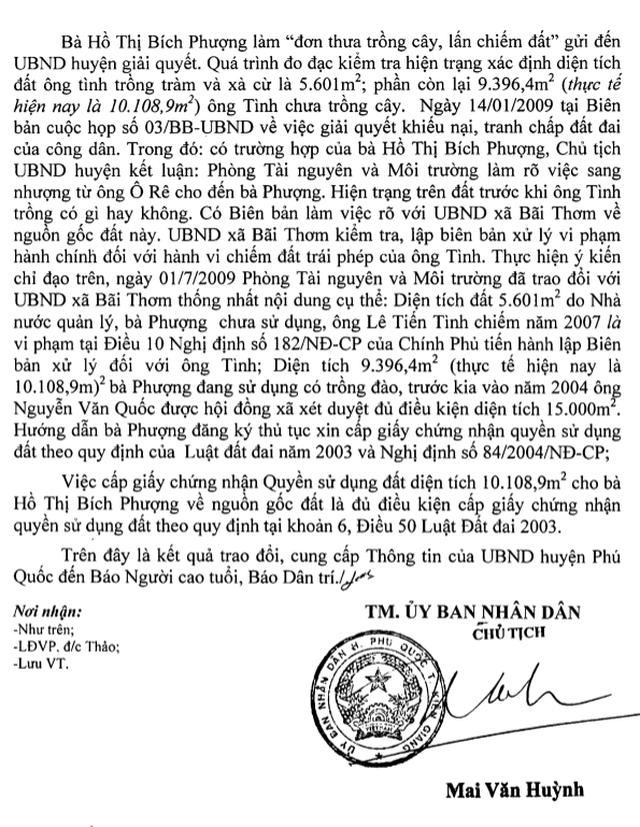 Chủ tịch Kiên Giang chỉ đạo hỏa tốc, Chủ tịch huyện Phú Quốc vẫn đang kiểm tra? - 5