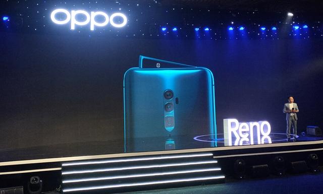 Smartphone vây cá mập Oppo Reno chính thức ra mắt, giá 12,9 triệu đồng - 1