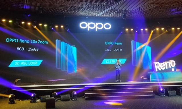 Smartphone vây cá mập Oppo Reno chính thức ra mắt, giá 12,9 triệu đồng - 5