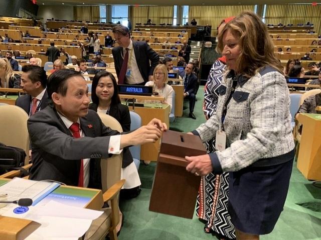 Việt Nam đắc cử Ủy viên không thường trực Hội đồng Bảo an với số phiếu kỷ lục 192/193 - 2